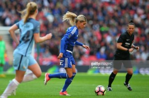 Andrine Hegerberg talks about the pace of the English game