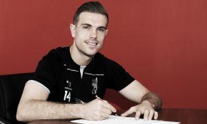 Jordan Henderson, en Liverpool hasta 2020