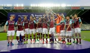 West Ham Under-23's promoted to Premier League 2 Divison One after play-off victory over Newcastle