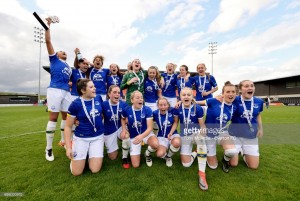 London Bees 0-4 Everton: Blue Girls claim Spring Series honours