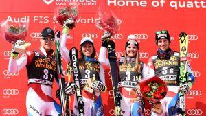 Sci Alpino, finali Meribel: Team Event alla Svizzera, quarta l'Italia