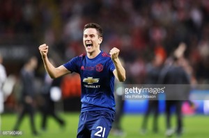 Ander Herrera dedicates Europa League win to Manchester's fallen victims after recent tragedy