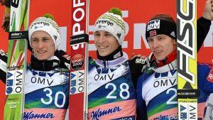 Salto con gli sci, Planica: il connazionale Tepes beffa Prevc e regala la Coppa del Mondo a Severin Freund
