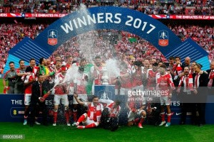 Arsenal 2-1 Chelsea: Aaron Ramsey header hands Arsenal a record 13th FA Cup trophy