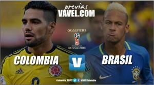 Colombia vs. Brasil: los 'cafeteros' quieren vencer a su 'coco' en las Eliminatorias