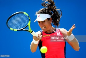 AEGON Open Nottingham 2017: Konta now just one win away from Sunday's final
