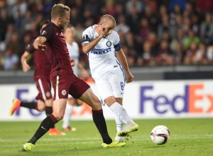 Inter - Sparta Praga (2-1) diretta, live Europa League 2016/17. Doppietta per Eder!