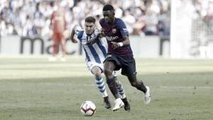 Barcelona sai atrás, mas ganha do Real Sociedad fora de casa e permanece na ponta da La Liga