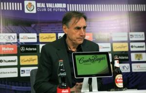 """Miguel Ángel Portugal: """"El Huesca ha logrado hacernos impotentes"""""""
