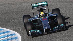 """Lewis Hamilton: """"Solo ha habido aspectos positivos estos días"""""""