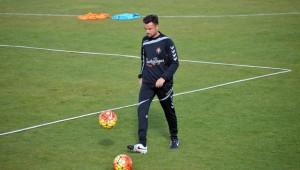 Rubén Albés, al mando de manera provisional