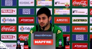 """Carles Gil: """"Apoyaré al equipo desde la grada"""""""