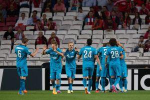 زينيت يكرم مضيفه بنفيكا بثنائية في دوري أبطال أوروبا