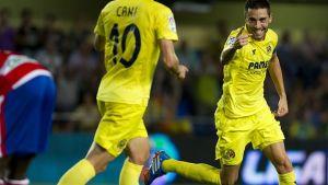Villarreal - Granada: puntuaciones del Villarreal, jornada 8