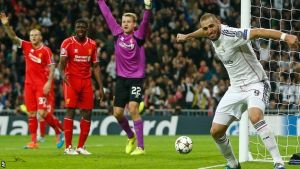 Real Madrid 1-0 Liverpool: Karim Benzema goal sends Real Madrid through