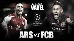 Previa Arsenal - FC Barcelona: duelo de ataques