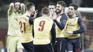 Galatasaray 1-4 Arsenal: Arsenal run riot in first-half against Galatasaray in Champions League win