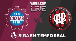 Resultado de Caxias x Atlético-PR na Copa do Brasil 2018 (0-0)