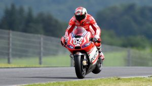 Las Ducati se preparan en Mugello