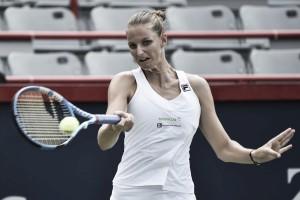 Pliskova vence Radwanska pela primeira vez em oito confrontos e avança em Cincinnati
