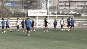 El Málaga comienza los entrenamientos tras la derrota contra el Betis