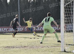 El Cádiz gana al Magdeburgo en un amistoso jugado en El Rosal