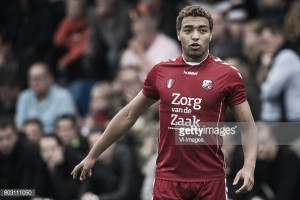 Cyriel Dessers, nuevo jugador del FC Utrecht
