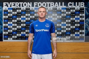 Wayne Rooney returns to Everton on a free transfer