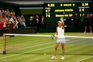 Wimbledon 2017: Konta stages stunning fightback versus Halep to reach Wimbledon semi-finals