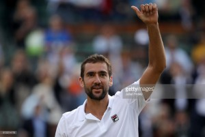 Wimbledon 2017: Cilic too strong for resilient Muller