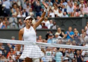 Wimbledon 2017: GarbineMuguruza steamrolls Magdalena Rybarikova to reach final