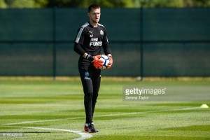 Young Newcastle United goalkeeper Freddie Woodman attracting Premier League interest