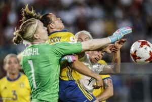 Euro 2017 - Germany 0-0 Sweden: European giants play out breathless draw