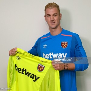 West Ham secure Joe Hart on a season-long loan