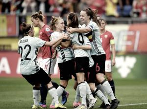 La Belgique rebondit contre la Norvège