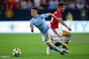 """Pep Guardiola heaps praise on """"special"""" Phil Foden after youngster makes debut in Houston derby defeat"""