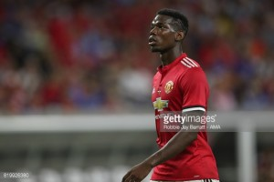 Manchester United midfielder Paul Pogba: You always want to beat Manchester City, even in a friendly
