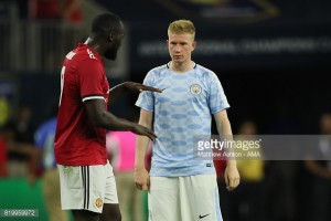 Kevin De Bruyne backs Romelu Lukaku to succeed at Manchester United