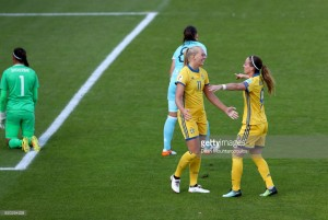 Euro 2017: Sweden 2-0 Russia - Swedes superior in Deventer
