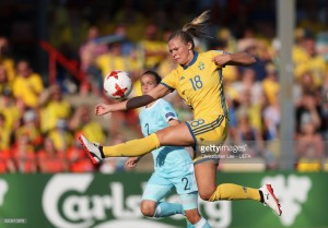 Euro 2017: Fridolina Rolfö happy the team is scoring goals