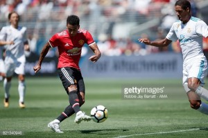 Luke Shaw: Jesse Lingard has been Manchester United's stand out player on tour