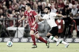 Semifinais da Champions League promovem reencontros para James Rodríguez e Salah