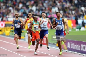 Clean sweep of British qualifiers in IAAF World Championship 800m