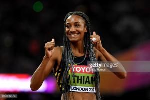 Belgium have their first World Champion thanks to Nafi Thiam's Heptathlon gold