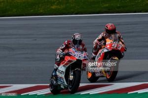 MotoGP: Dramatic end in Austria as Dovizioso fends off Marquez for win