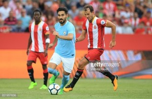"""İlkay Gündoğan states there is """"no reason to rush"""" back as he makes return to action in Girona FC defeat"""