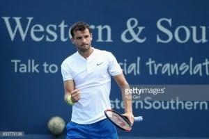 ATP Cincinnati: Dimitrov books spot in quarterfinals with victory over Del Potro