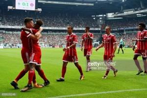 SV Werder Bremen 0-2 Bayern Munich: Lewandowski's quickfire double downs brave hosts