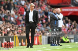 """José Mourinho has subtle dig at """"quiet"""" Old Trafford support against Leicester City"""