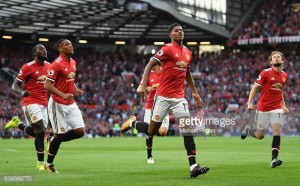 Manchester United 2-0 Leicester City: Super subs keep up United's perfect start to season